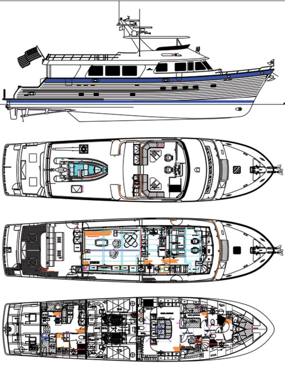 Outer Reef 860 deckplans