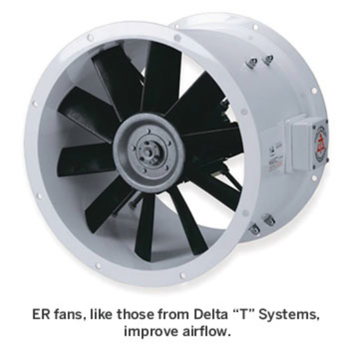 Engine room fan