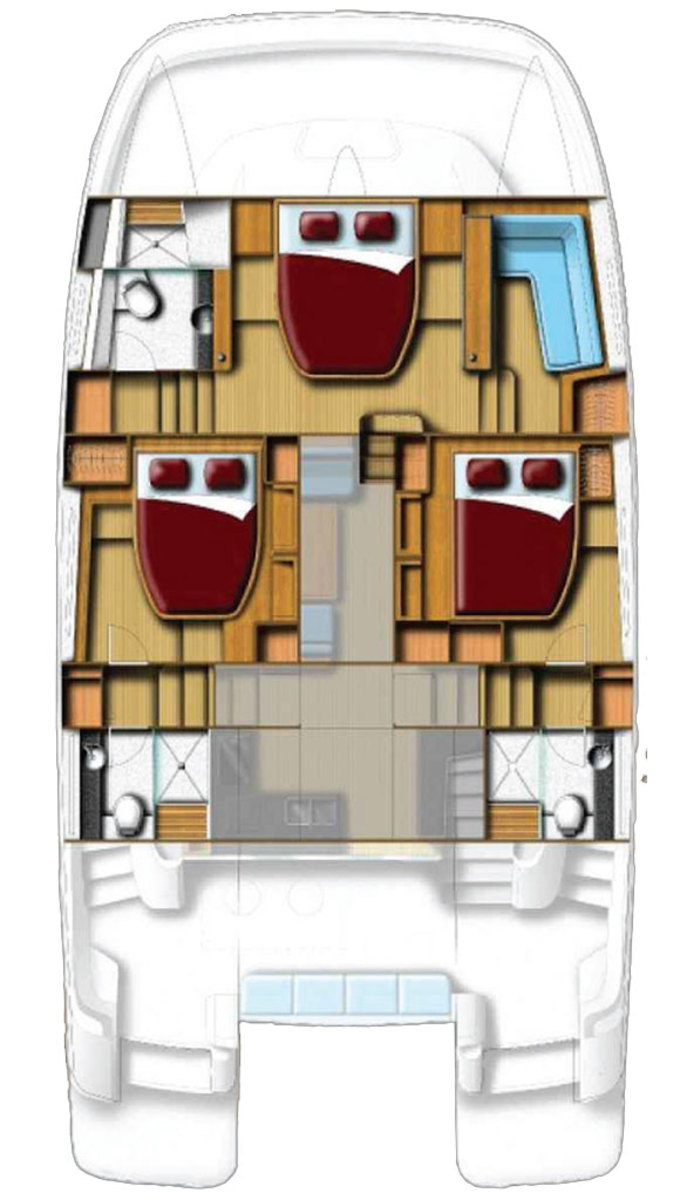 Aquila 44 deckplan