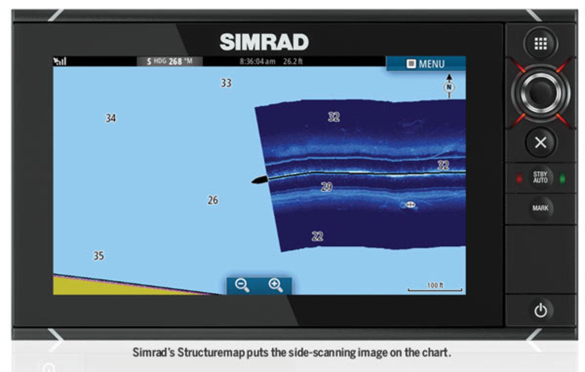 Simrad screenshot