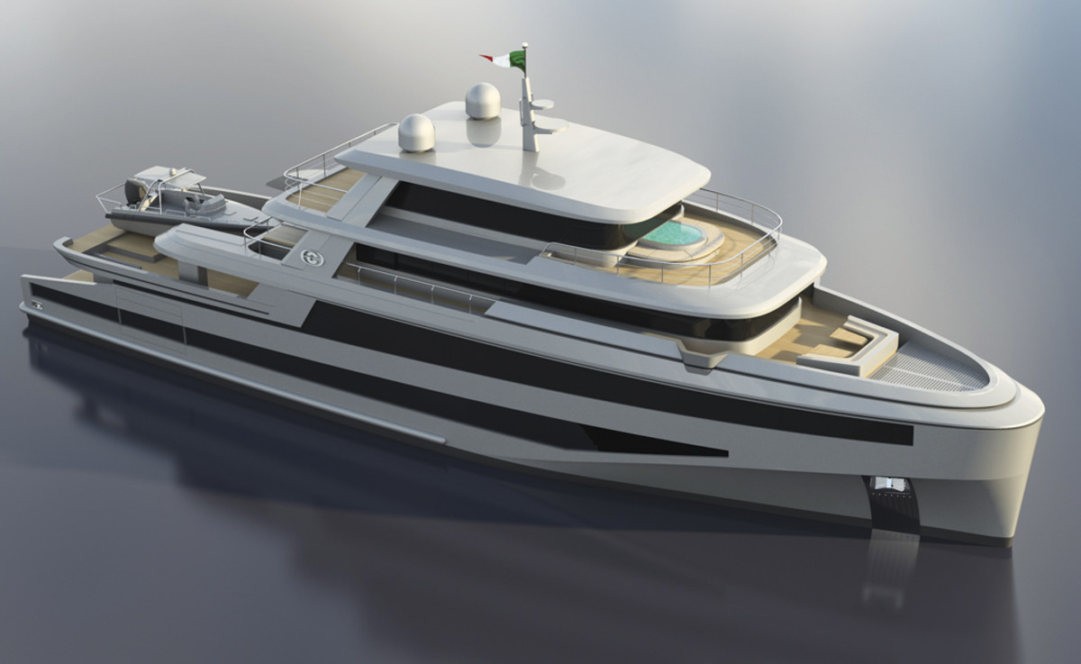 CCN 138-foot expedition yacht
