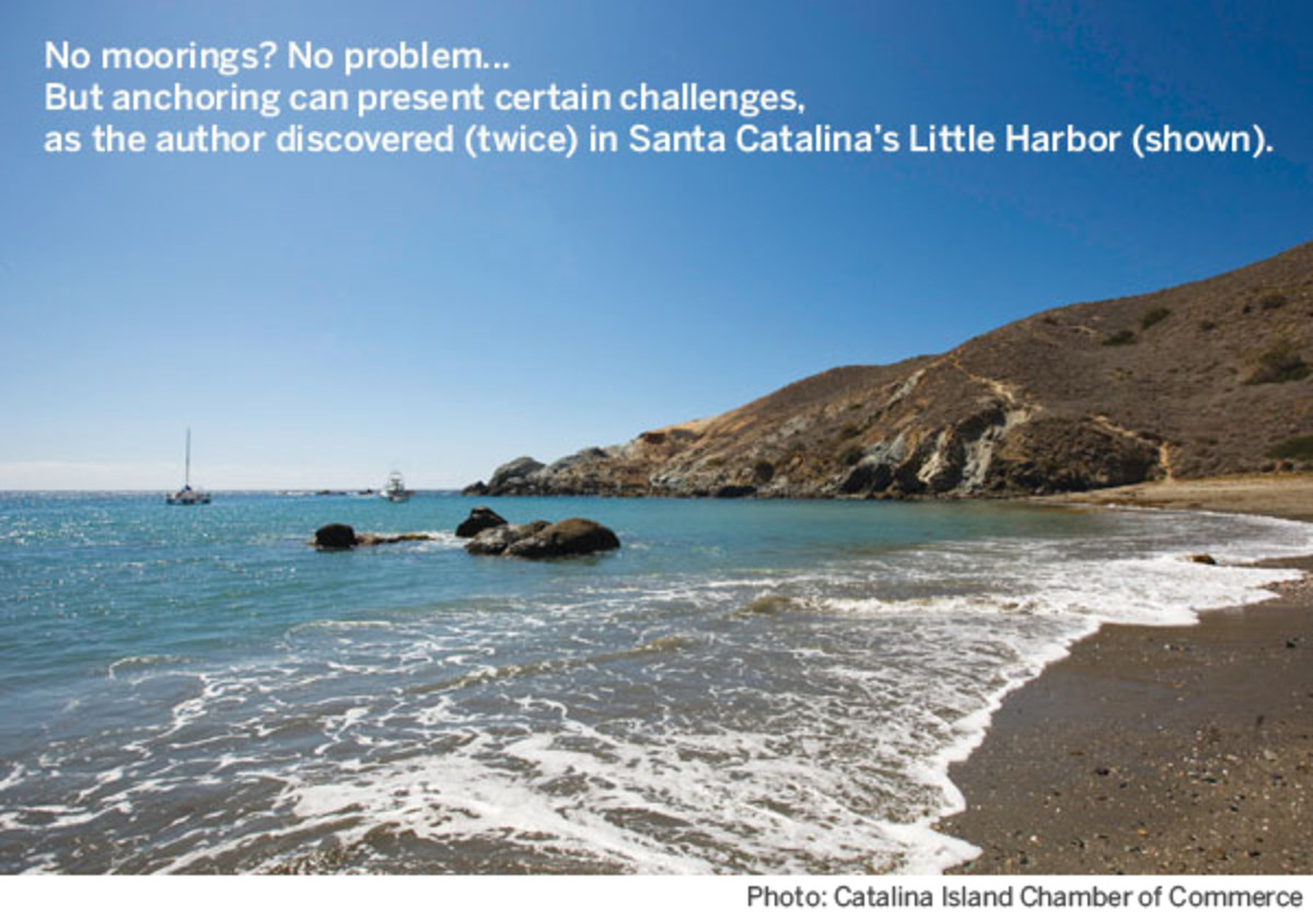 Santa Catalina's Little Harbor