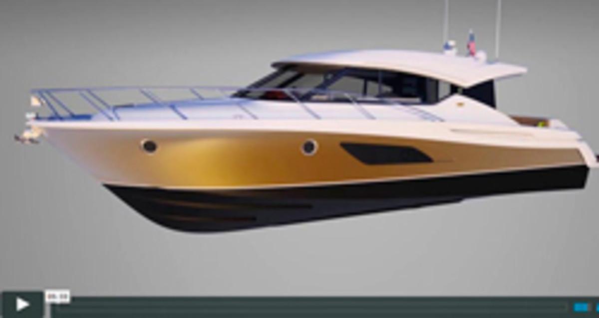 Tiara 44 Coupe rendering