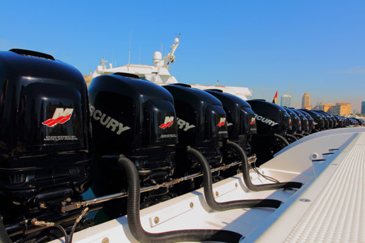 Mercury Marine engines