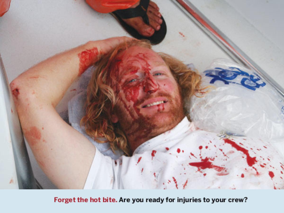 a fishing injury