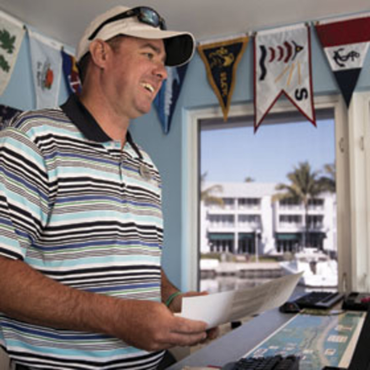 Charles Martz of South Seas Island Resort Marina