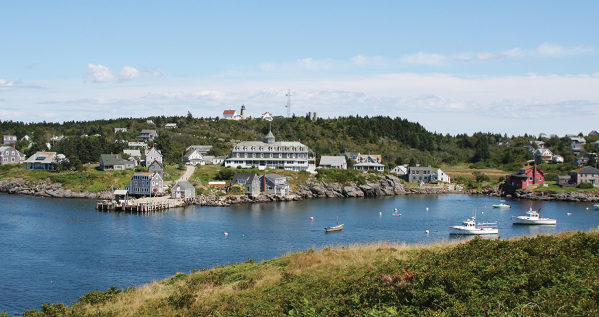 Monhegan Bay