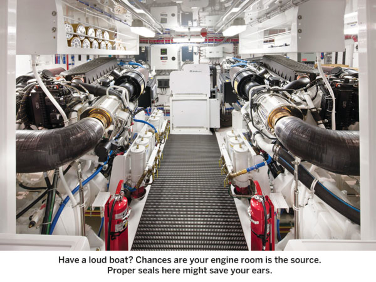 Inexpensive Noise Reduction on Your Boat - Power & Motoryacht