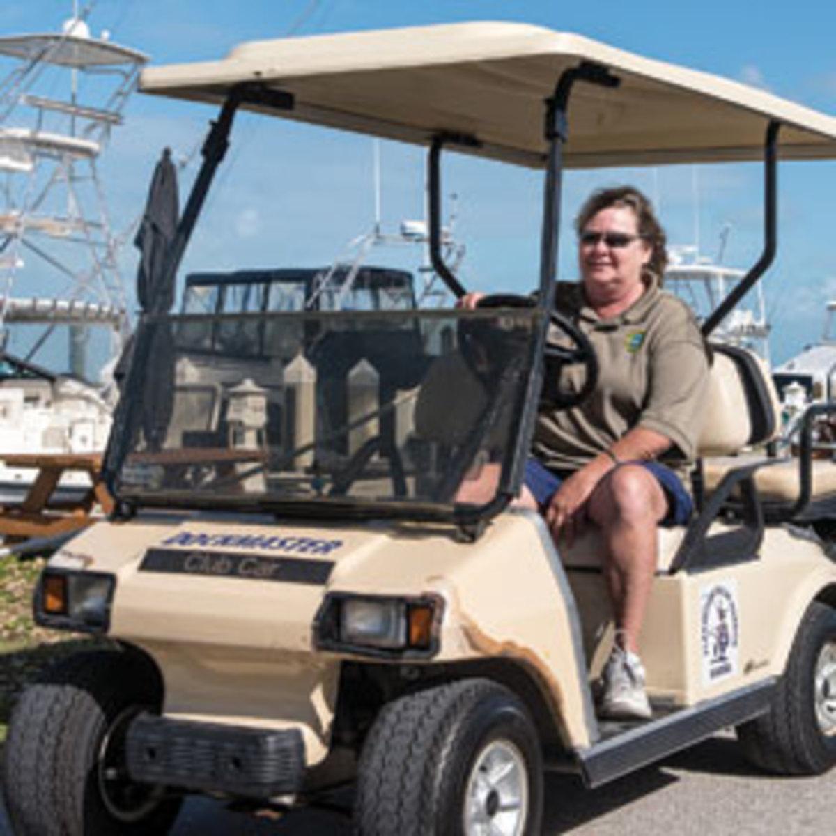 Lisa Watts of Plantation Yacht Harbor
