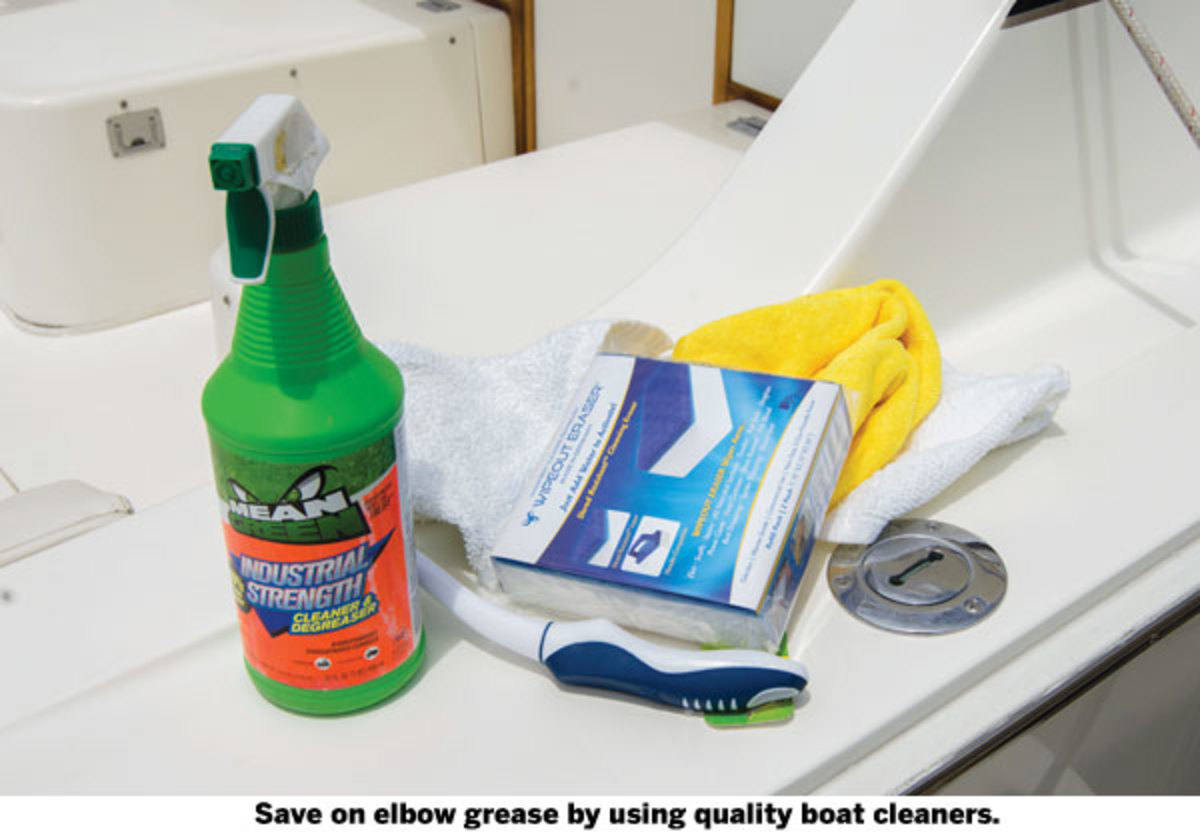 boat cleaning supplies