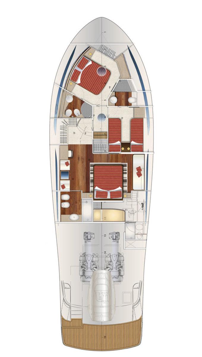 Austin Parker 64 Fly S layout