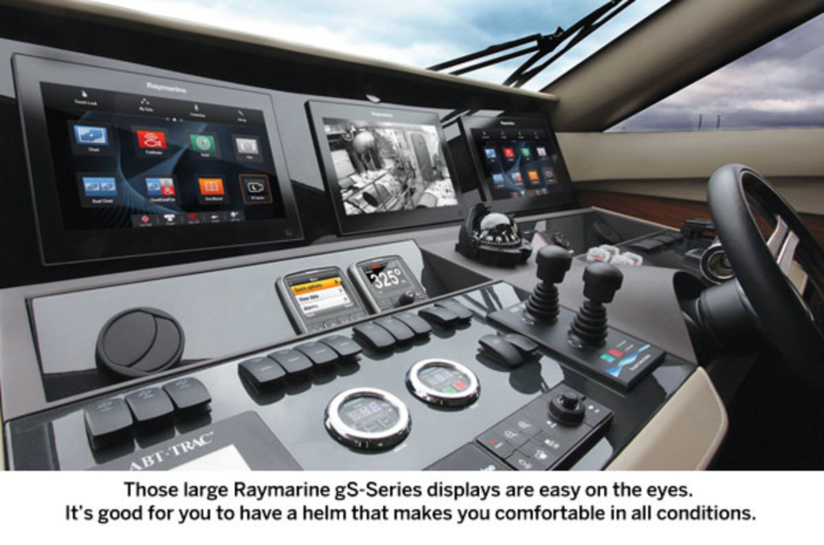 Raymarine gS-Series display