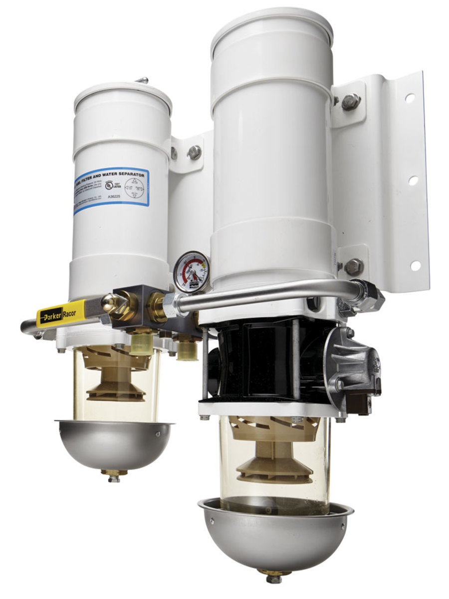 Fuel Water Separators Demystified Power Motoryacht Parker Marine Filter Separator