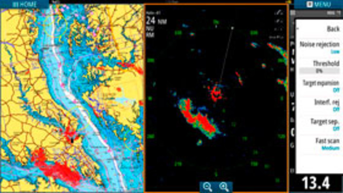 storm on radar