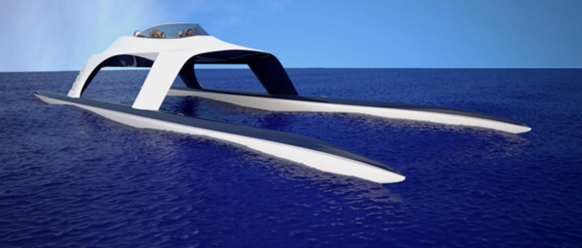 Glider yacht