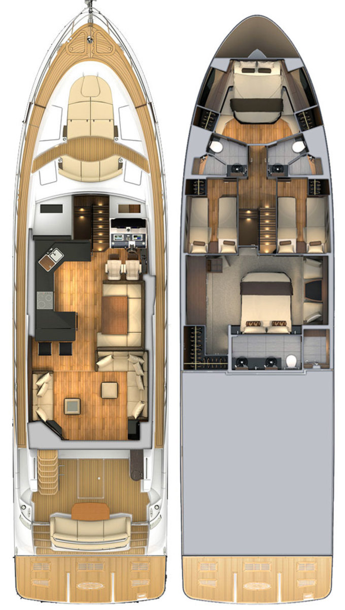 Sea Ray L650 Fly deck plans