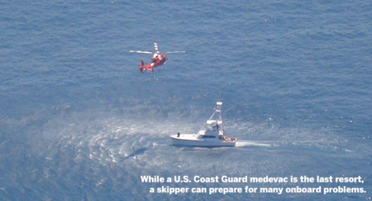 U.S. Coast Guard medevac