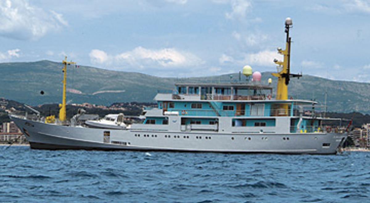 World's 100 Largest Yachts 2006 #58: Amazon Express - Power
