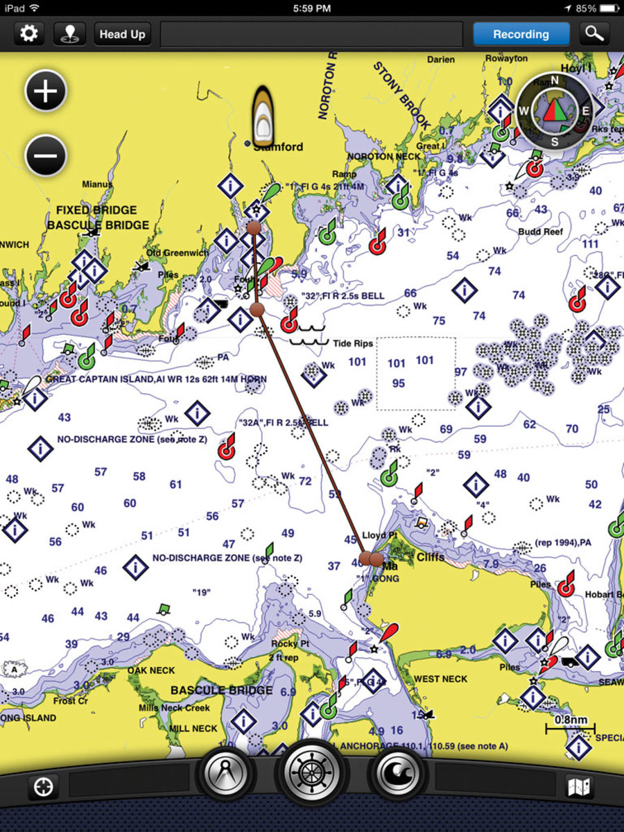 Garmin's BlueChart Mobile
