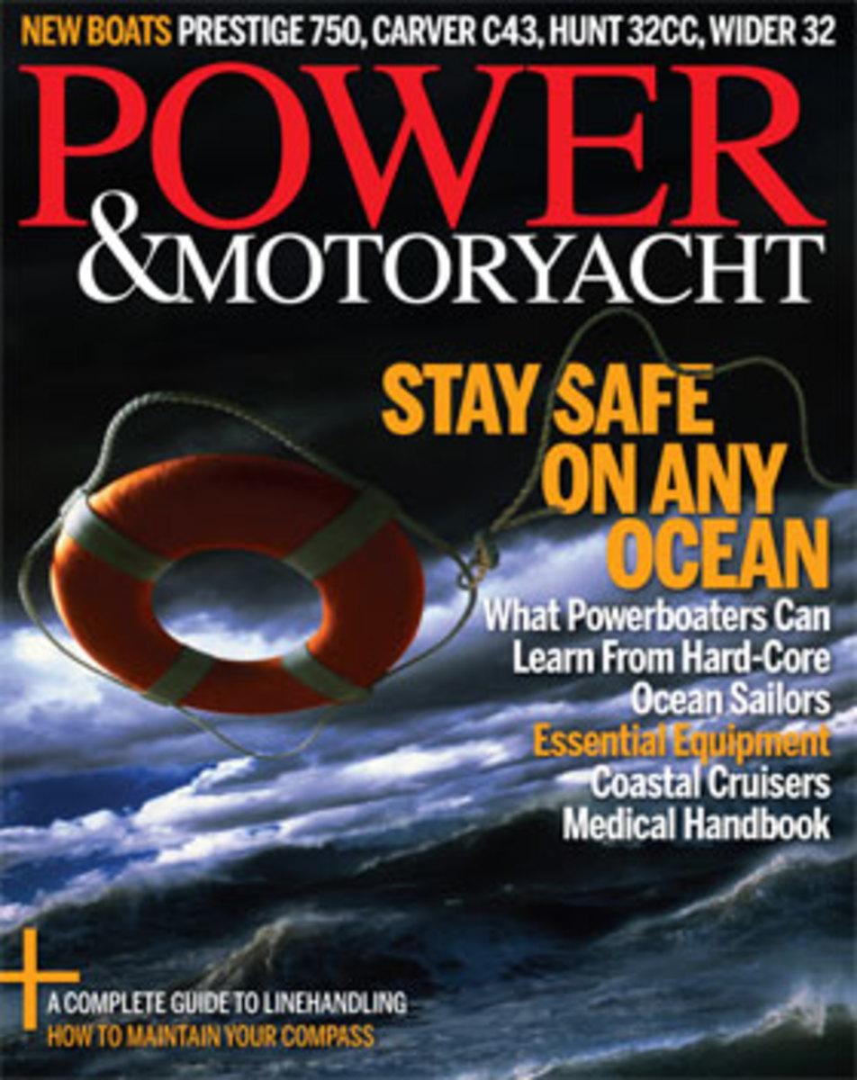 Power & Motoryacht September 2015 subscriber cover