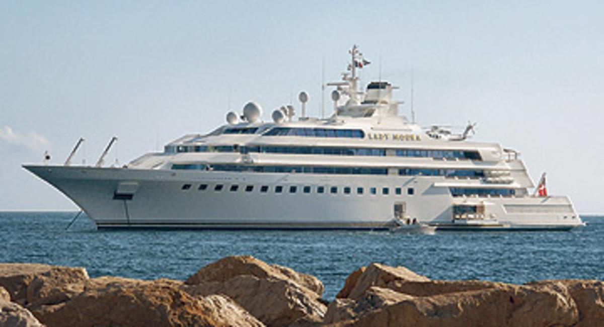 World S 100 Largest Yachts 2006 10 Lady Moura Power Motoryacht