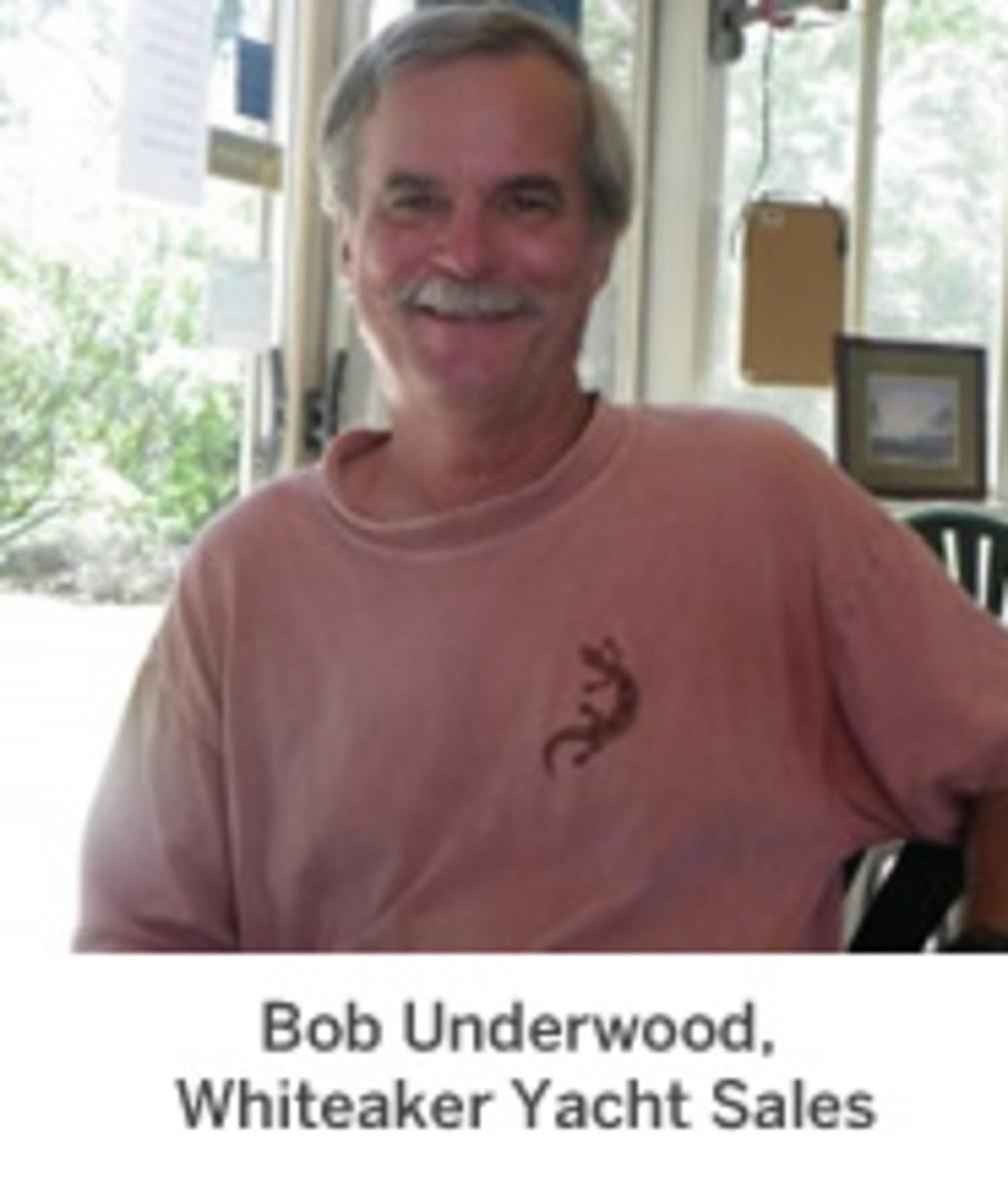 Bob Underwood, Whiteaker Yacht Sales