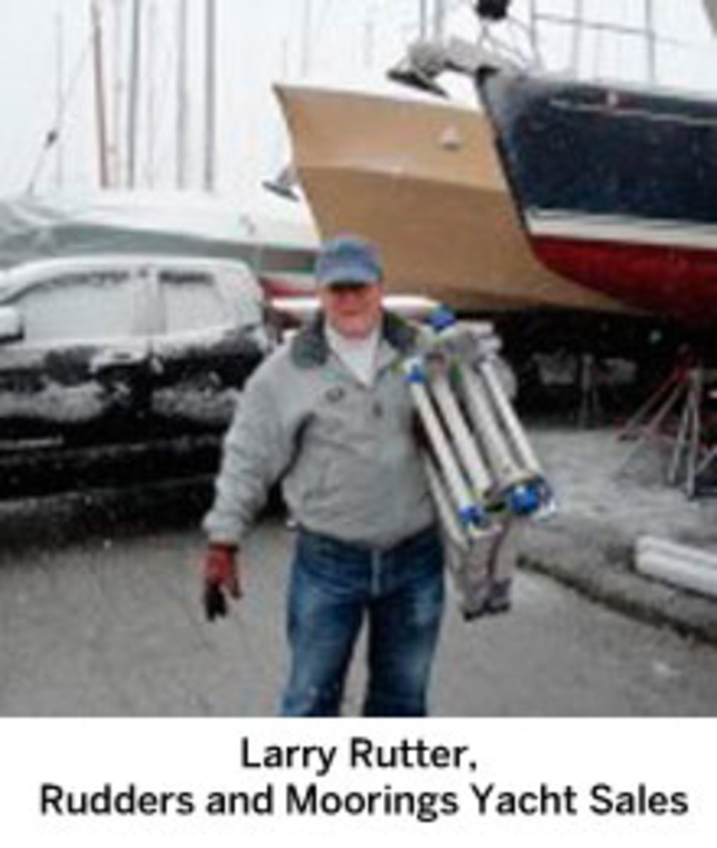 Larry Rutter, Rudders and Moorings Yacht Sales