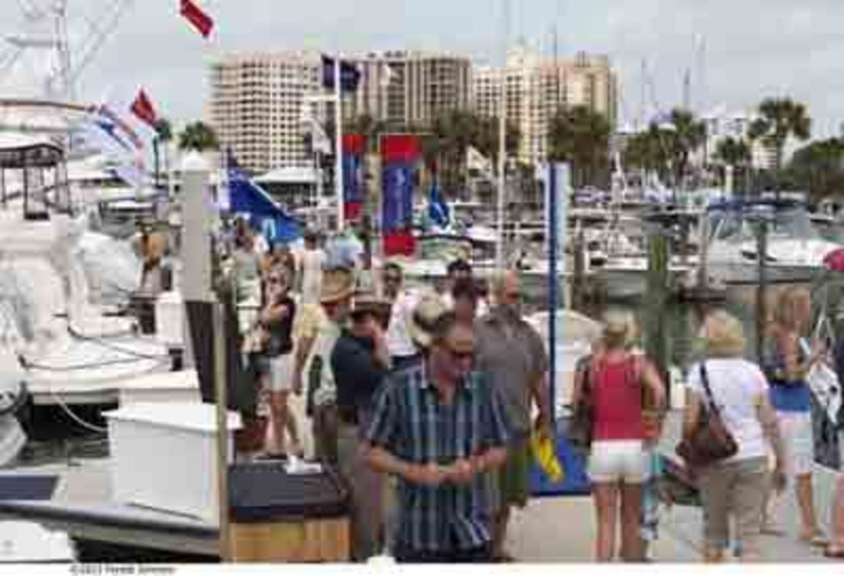 The Suncoast Boat Show in Sarasota
