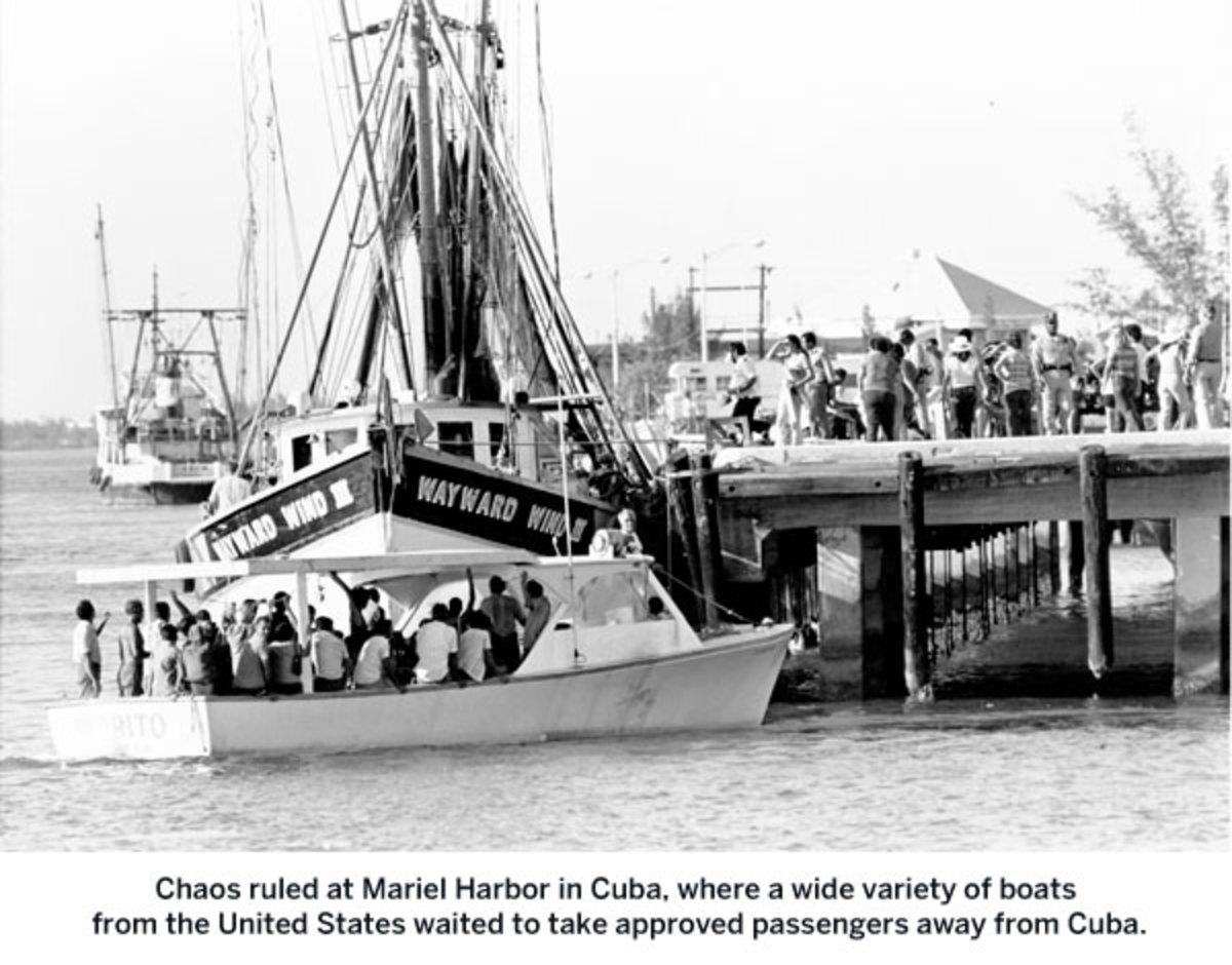 Mariel Harbor in Cuba