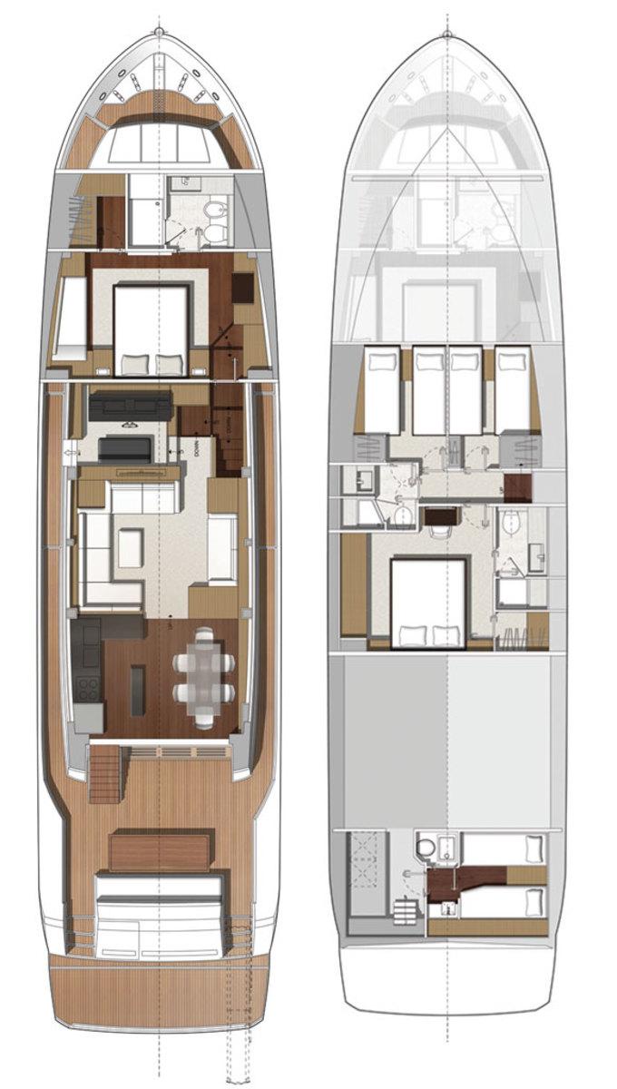 Prestige 750 layout diagram