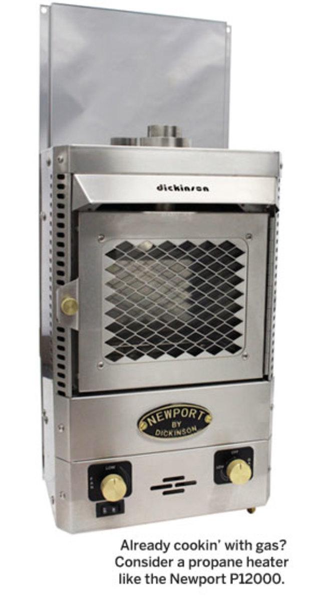 Newport P12000 propane heater