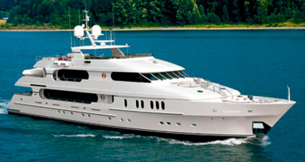 Tiger Wood's Yacht