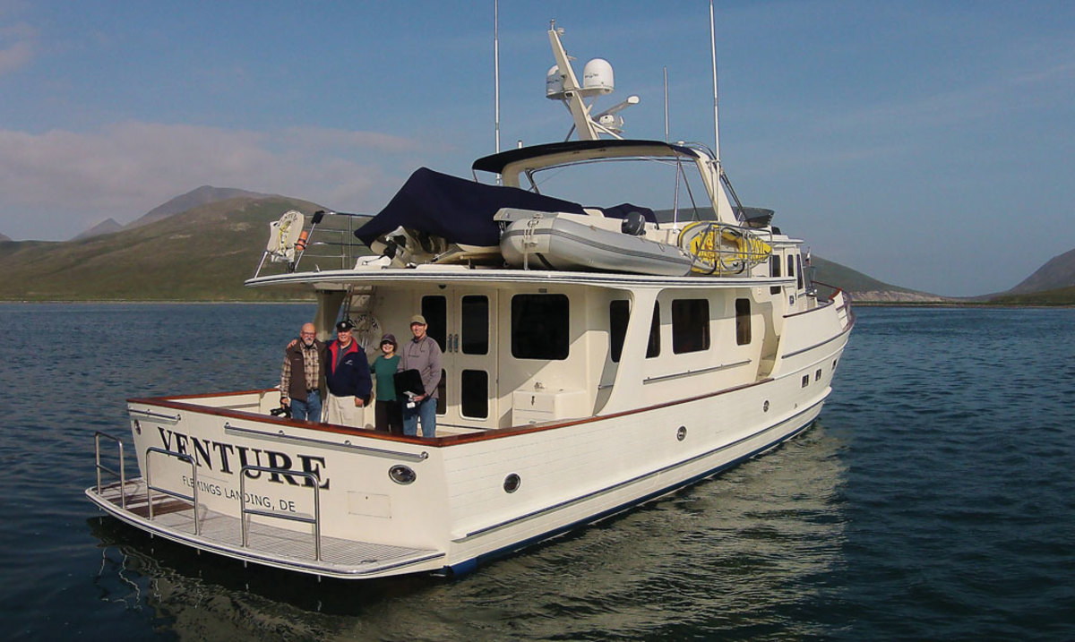 65-foot Fleming motoryacht, Venture