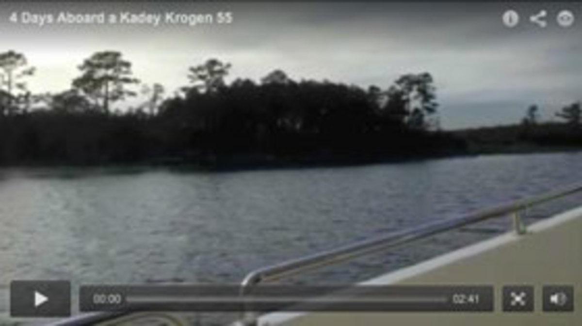 Kadey-Krogen 55 video