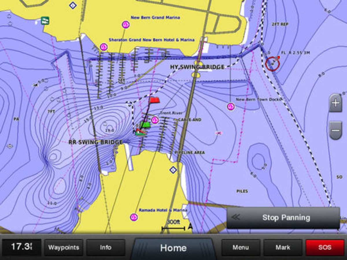 The navionics sonarcharts for garmin conflict messy business