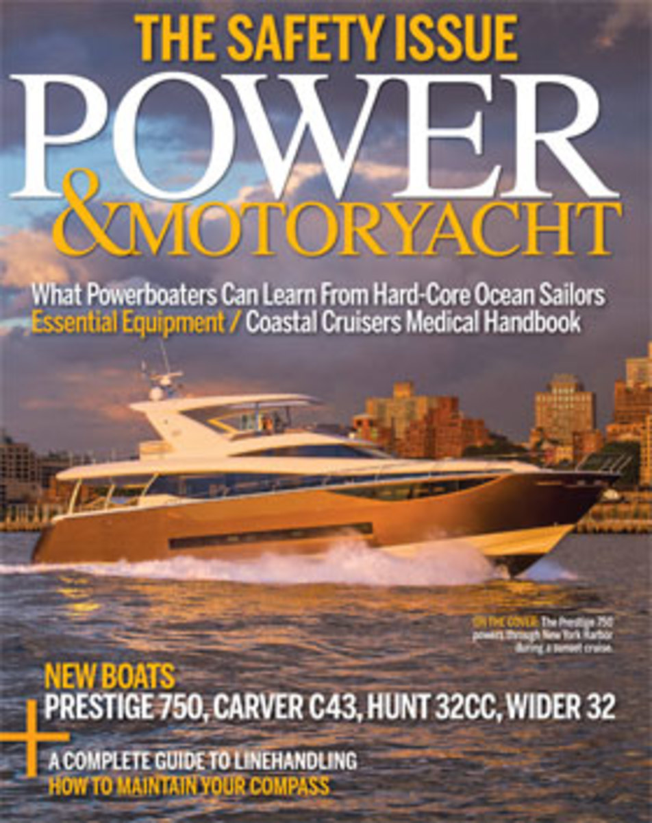 Power & Motoryacht Sept 2015 newsstand cover