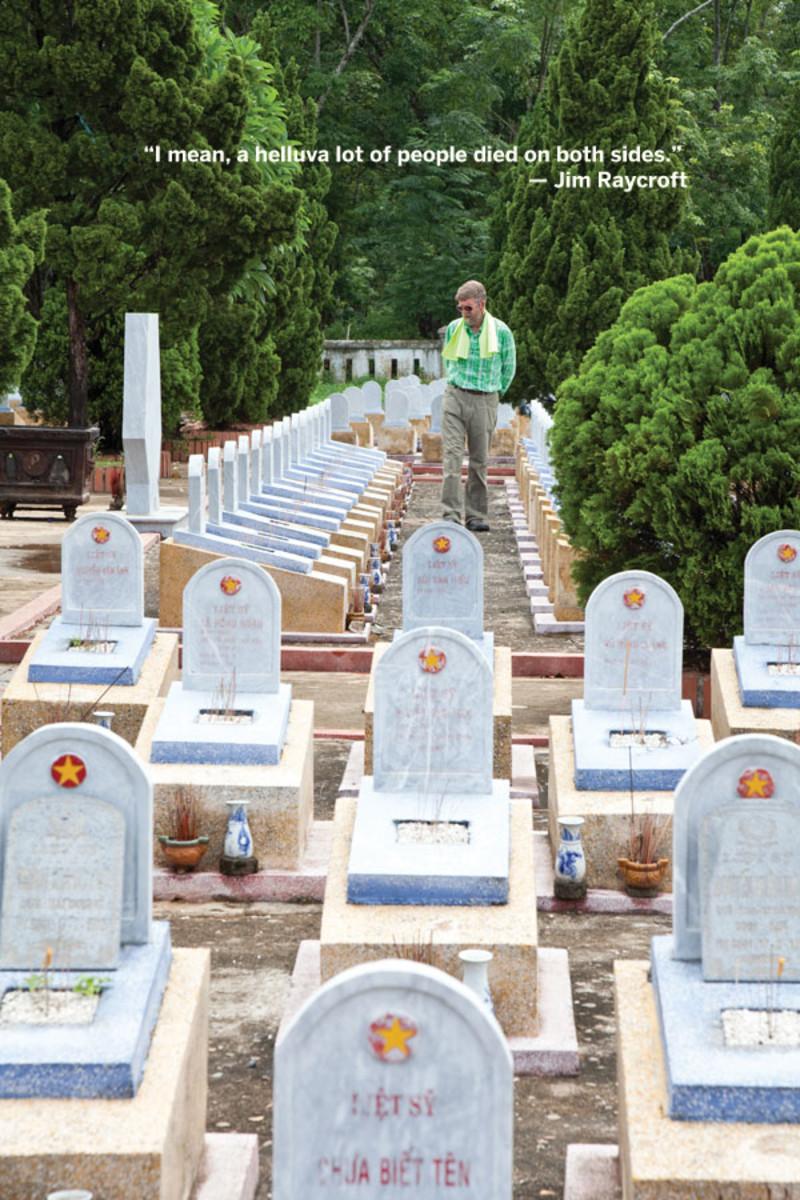 Vietnamese cemetery