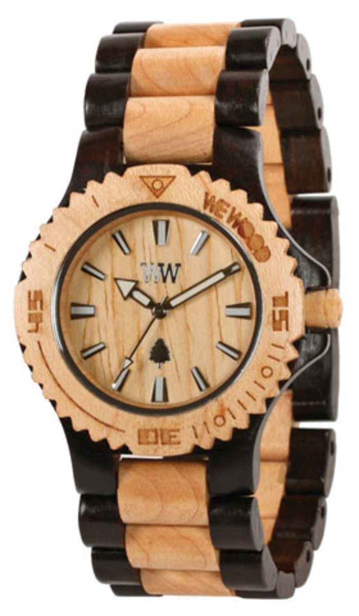 wooden watch from WeWood