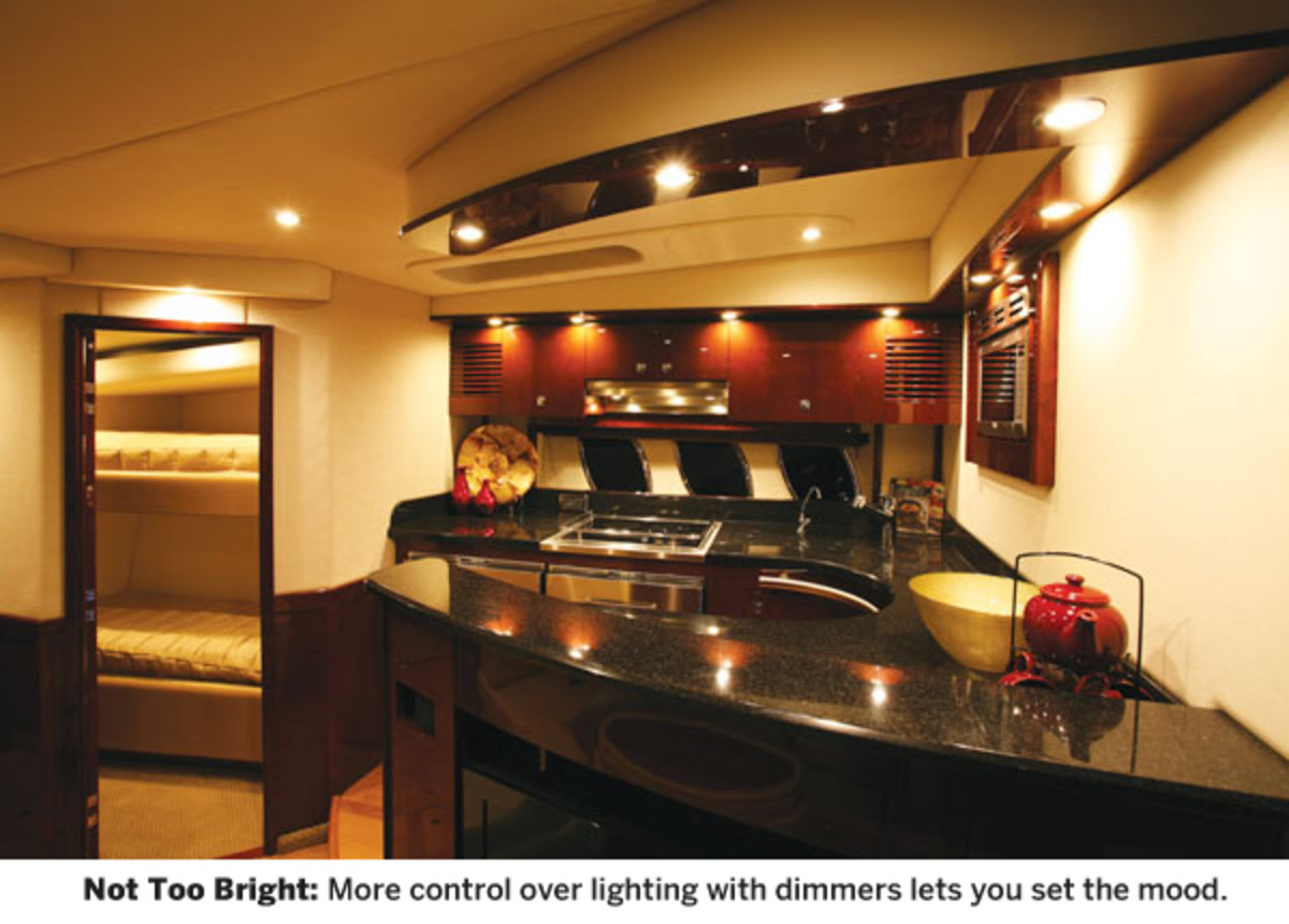 Galley lighting