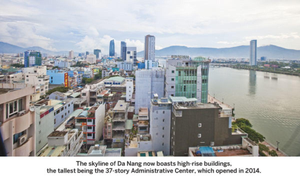 The skyline of Da Nang