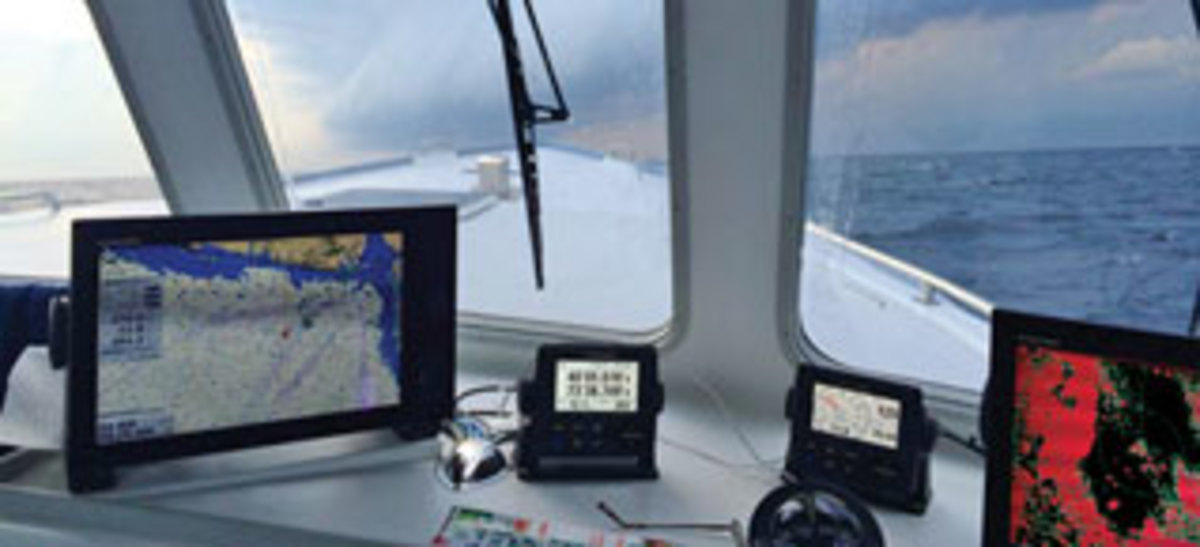 Marine electronics for fishing