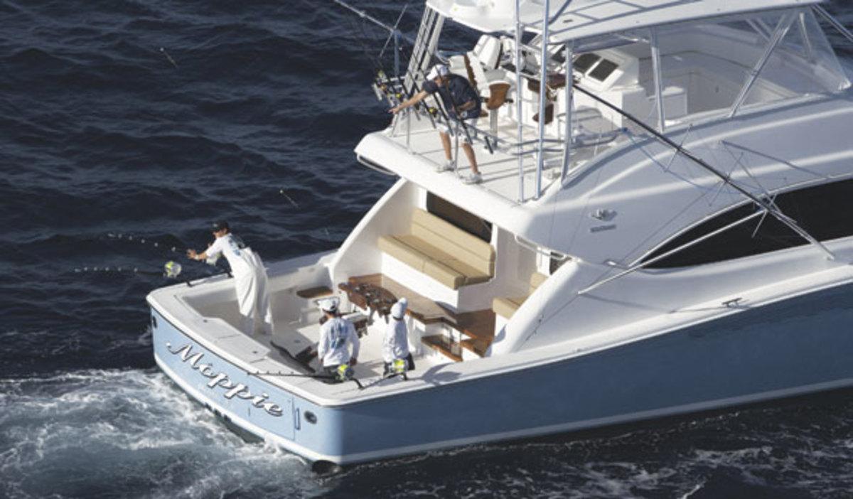 Fishing the Bertram 64