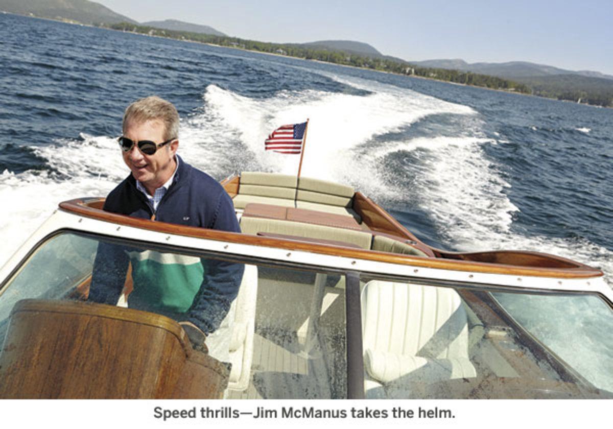 Jim McManus takes the helm.