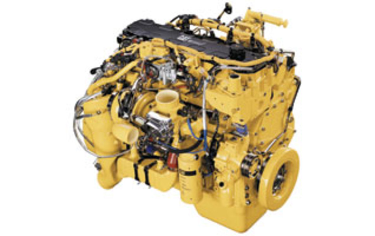 Cat C7 engine