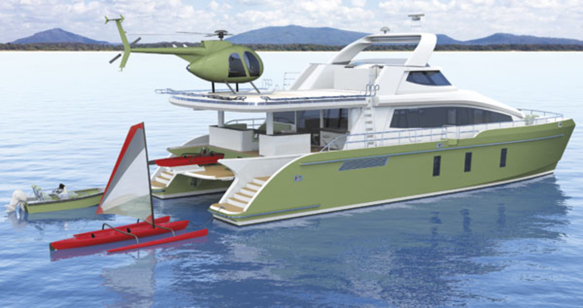 Jutson Power Cat 24m Exploration Catamaran