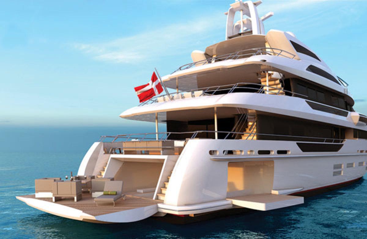 Danish Yachts 40M QuadraDeck