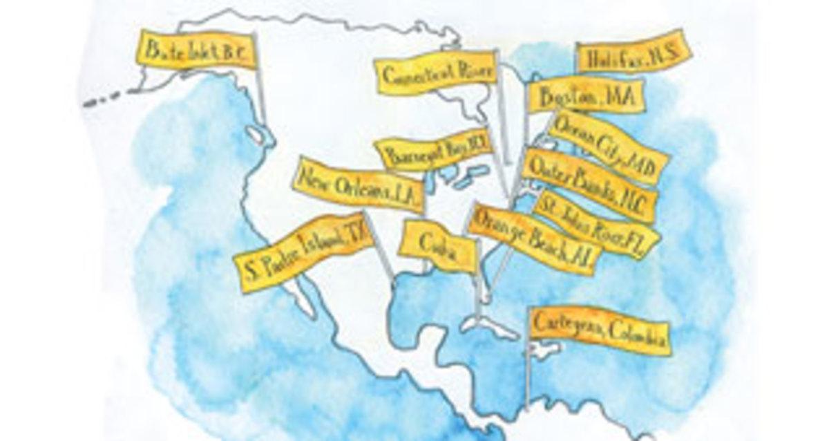 Crusing map