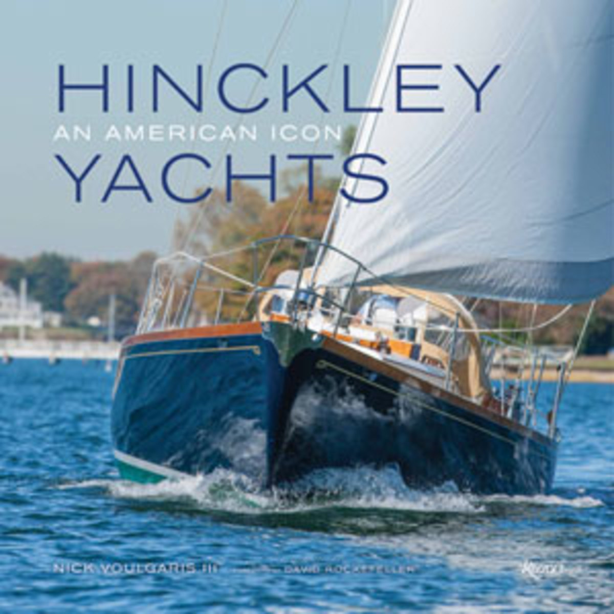 Hinckley Yachts book cover
