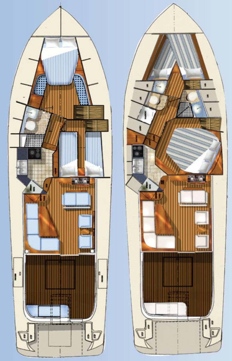 Defiance 46 deck plans