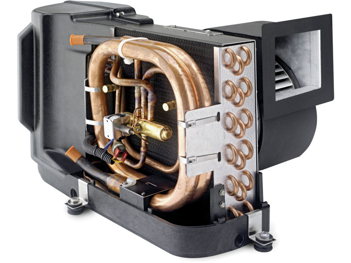 An award-winning Dometic self-contained turbo unit.